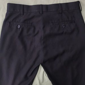 Van Heusen Pants - Van Heusen Black Slacks Dress Pants Slim 30x32
